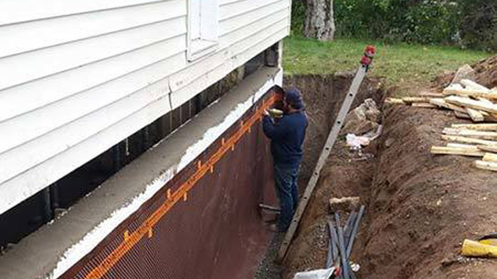 waterproofing foundation